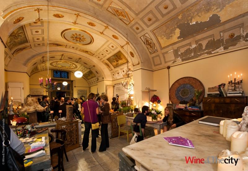 Una immagine di una iniziativa di Wine&TheCity