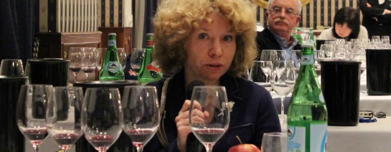 La giornalista russa Anna Popkova
