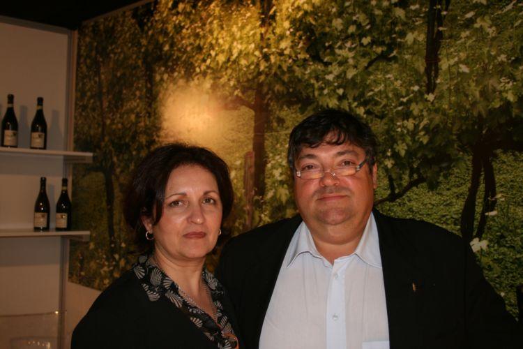 Diamante Renna e Antoine Gaita, titolari di Villa Diamante a Montefredane (AV)