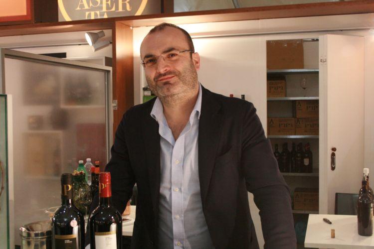 Antonio Papa, produttore a Falciano del Massico (CE)