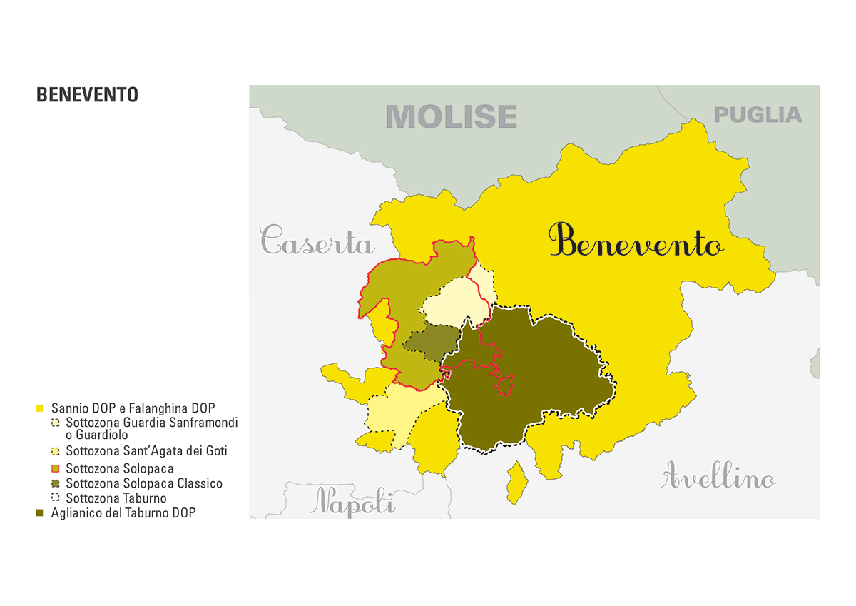 Le DOP della provincia di Benevento