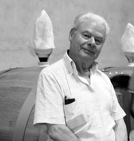 Benito Petrillo, titolare dell'azienda Calafè di Pratola Serra (AV) - Crediti foto:  www.worldwinecentre.com