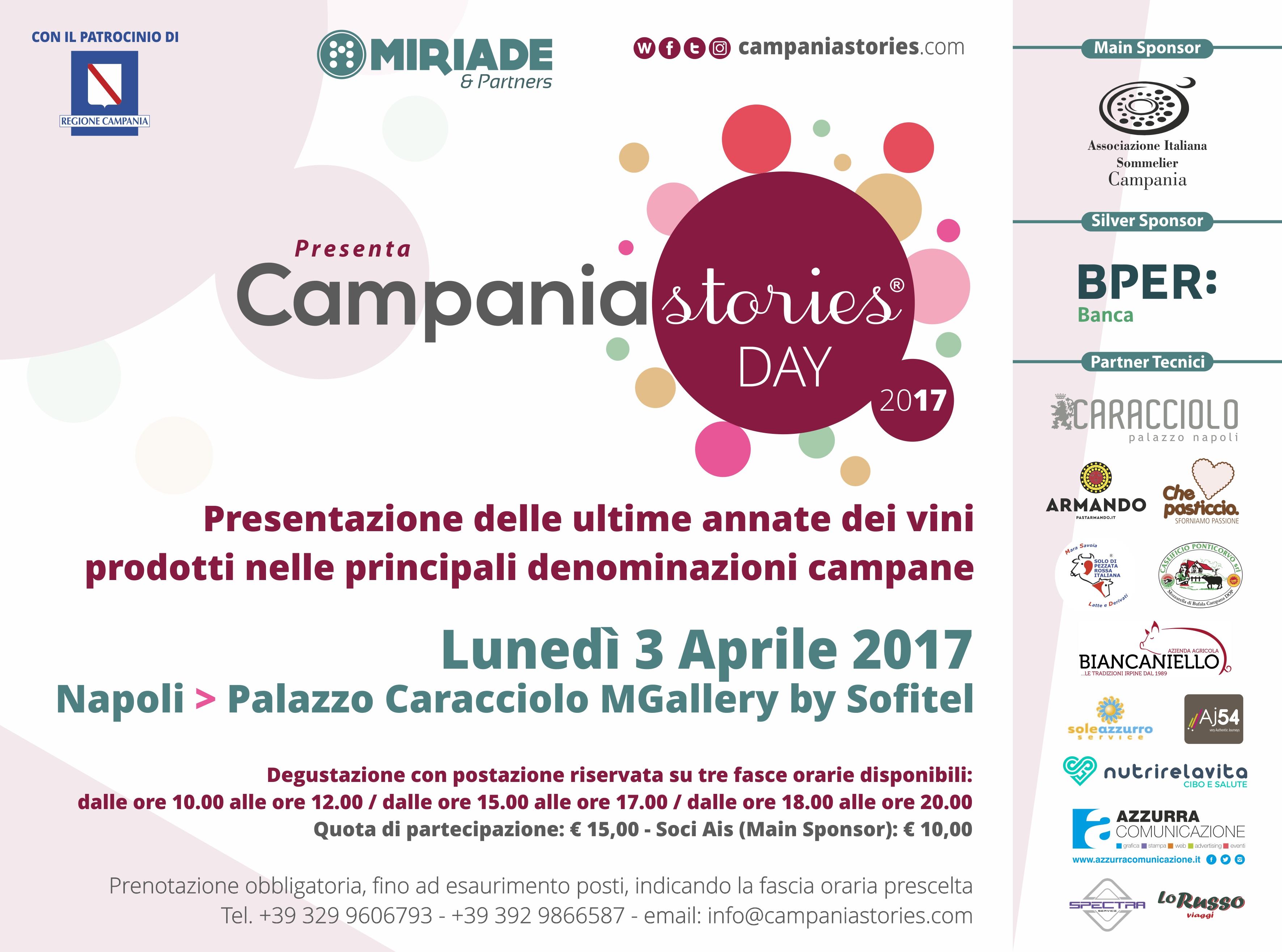 Campania Stories Day