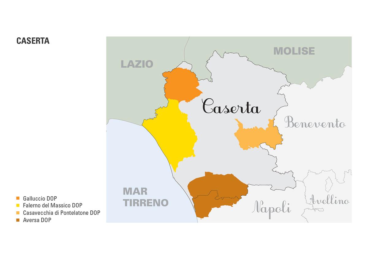 Le DOP della provincia di Caserta