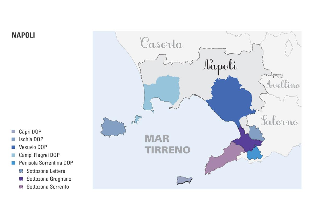 Le DOP della provincia di Napoli