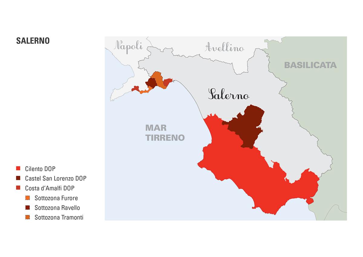 Le DOP della provincia di Salerno