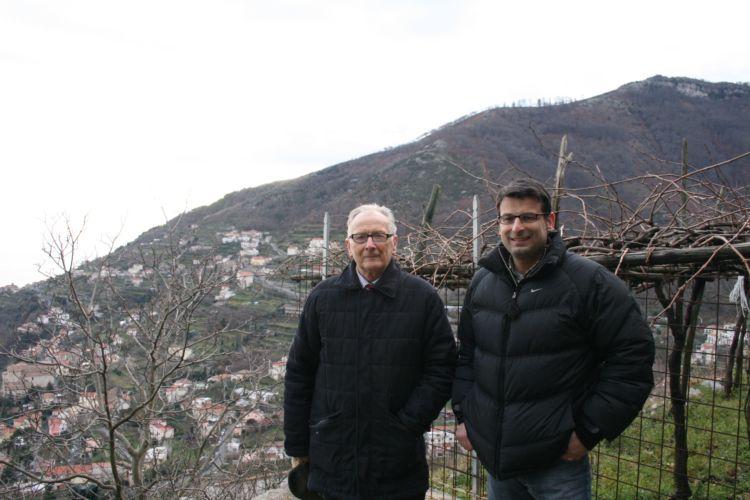 Ettore e Bartolo Sammarco, produttori a Ravello (SA)