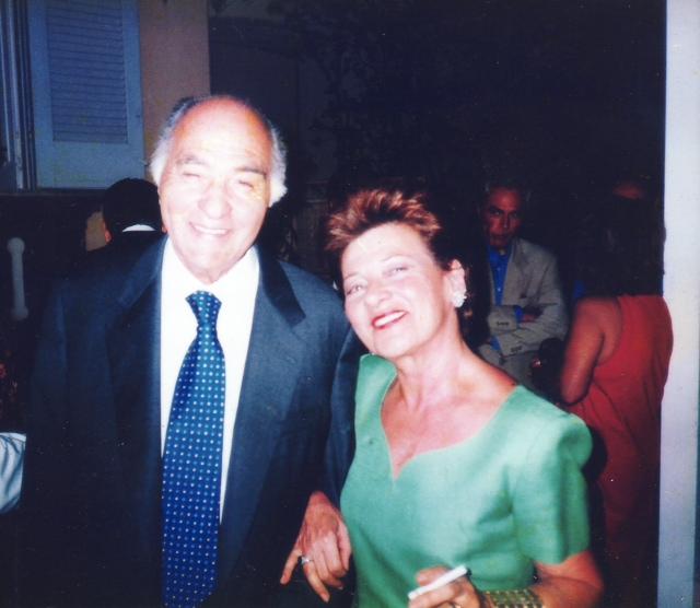 Francesco e Matilde Avallone, fondatori di Villa Matilde