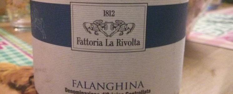 La Rivolta - Falanghina Taburno '10