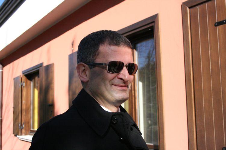 Libero Rillo, proprietario dell'azienda Fontanavecchia a Torrecuso (BN)