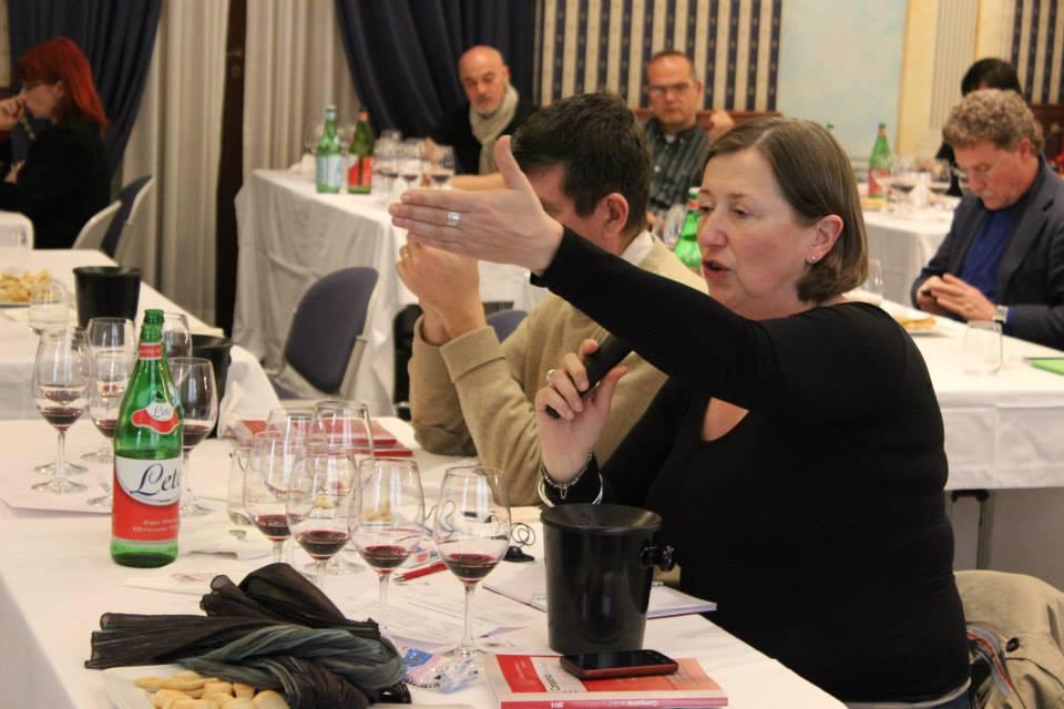 La giornalista austriaca Luzia Schrampf