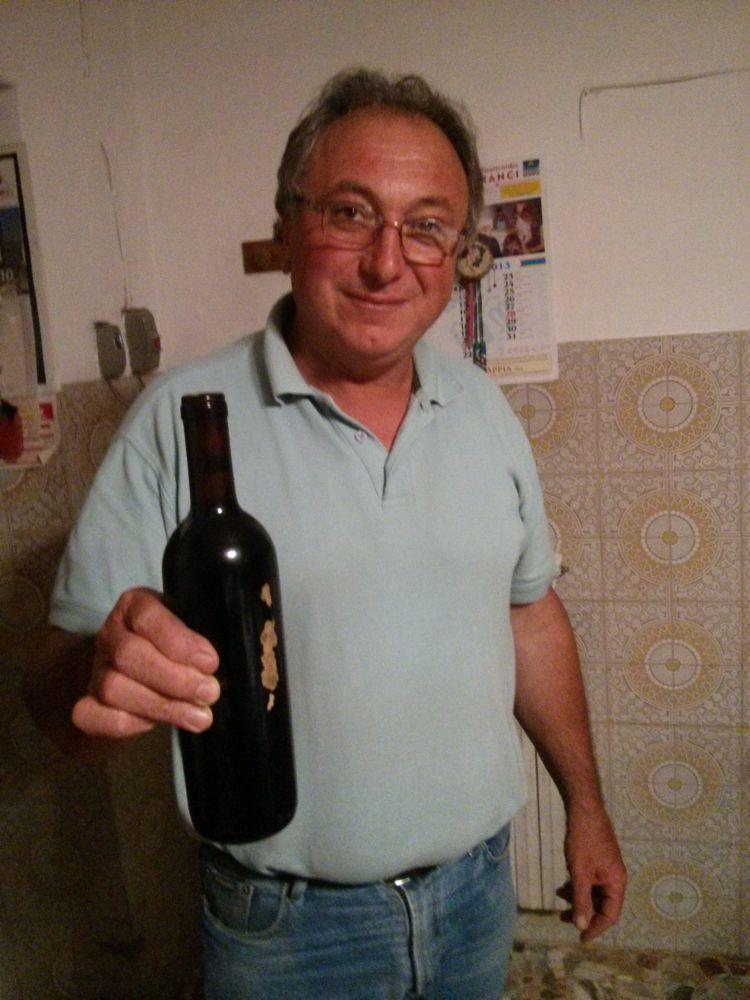 Michele Perillo, viticoltore e produttore a Castelfranci (AV)