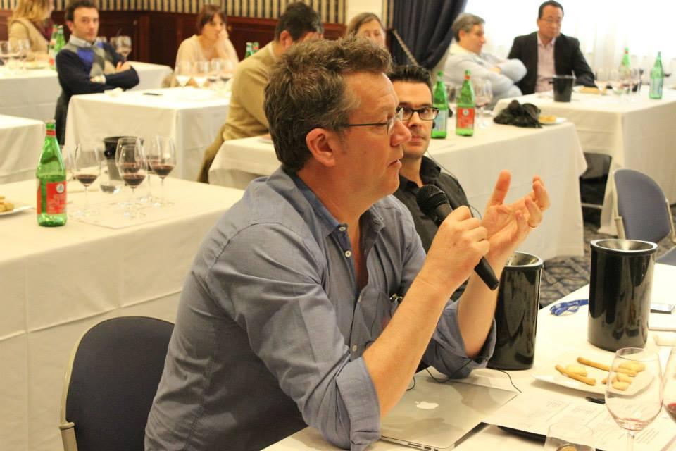 Il giornalista e Master of Wine britannico Peter McCombie