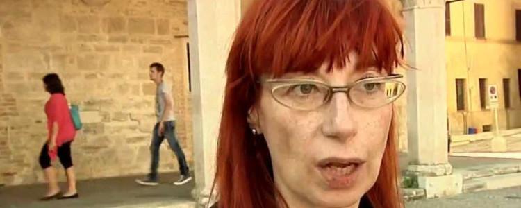 La giornalista Alessandra Piubello
