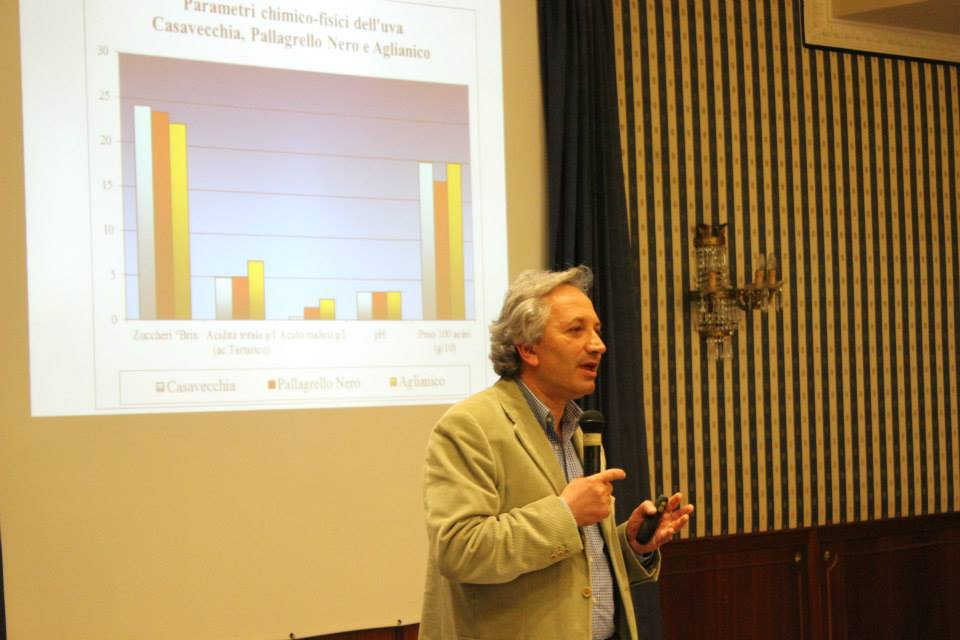 L'enologo e docente universitario Luigi Moio