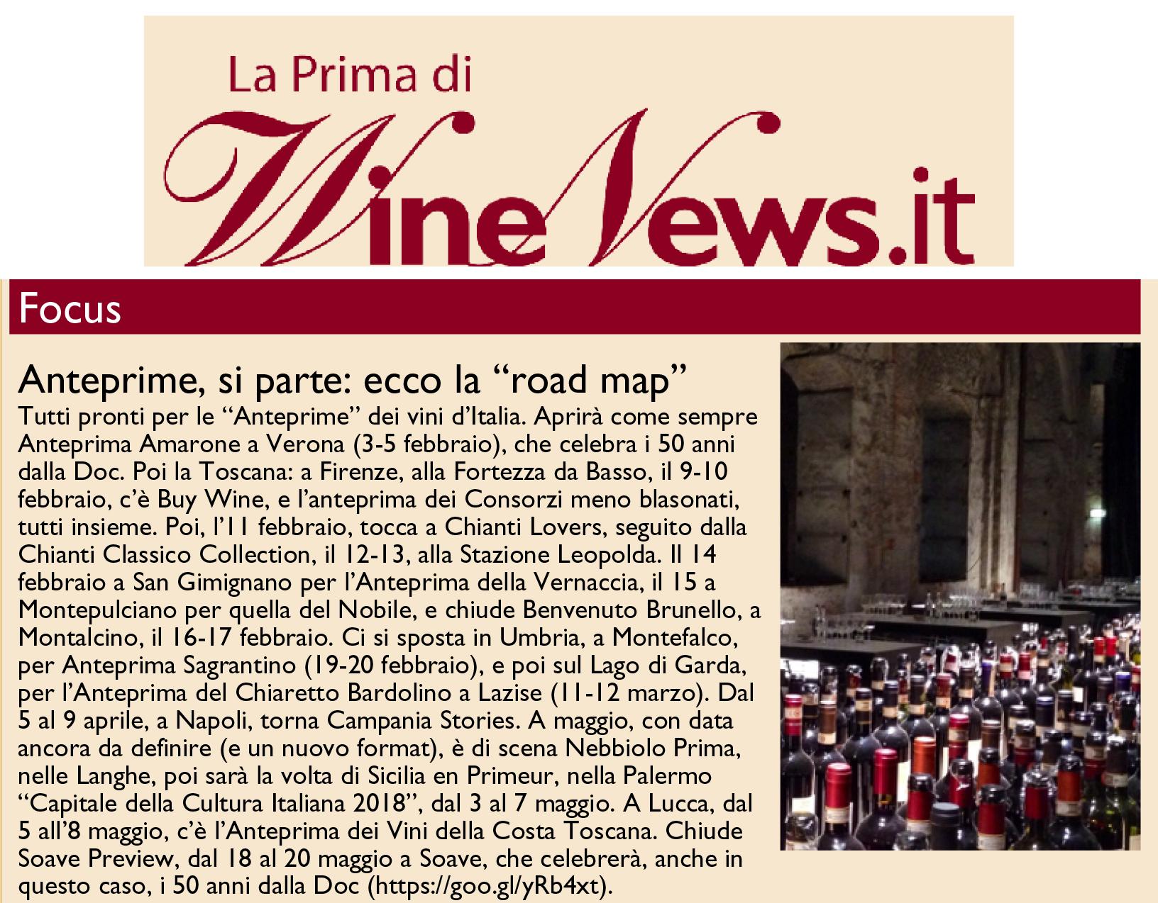 WineNews - La Prima di Winenews - n. 2307 - Giugno 2005