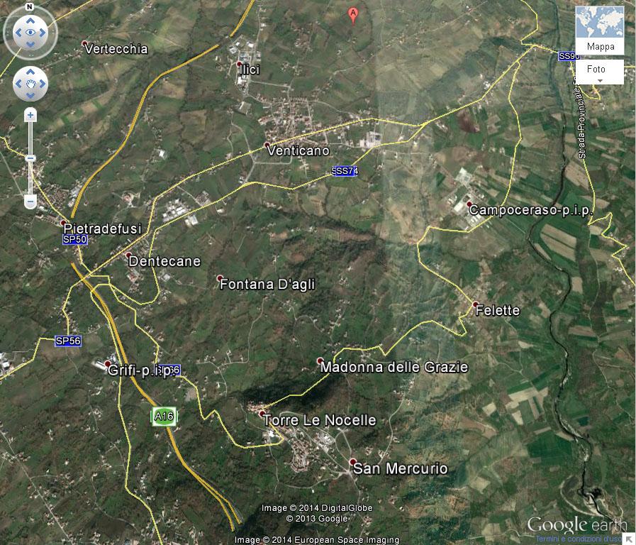 Macro-area Taurasi Quadrante Nord - Riva Sinistra