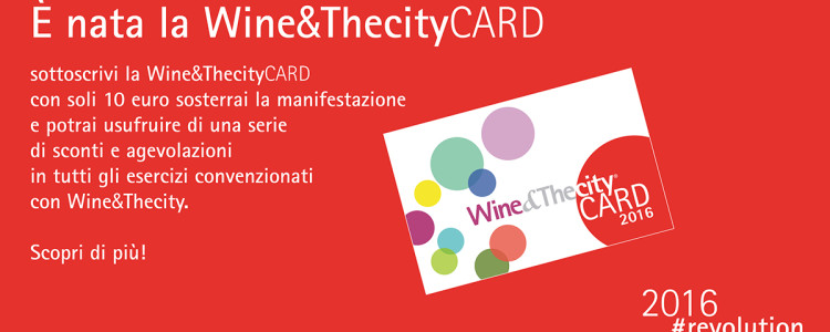 La Wine&TheCity Card